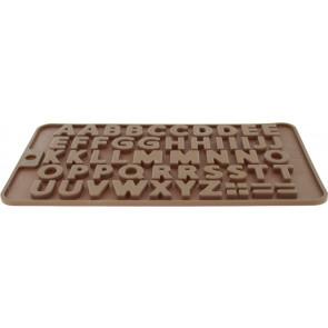 QP0002NS silicone mold: alphabet