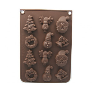 QP0050S silicone mold: winter mold 3