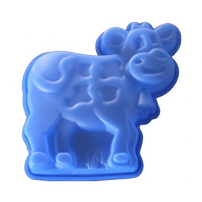 QP0016S silicone mold: Big Cow