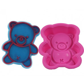 QP0065S silicone mold: Bear  Big