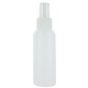 Spray mist bottle 100ml frosty clear