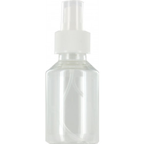 Spray mist bottle 100ml clear 28mm