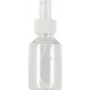 Spray mist bottle 100ml clear 28mm