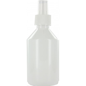 Spray mist bottle 250ml white 28mm
