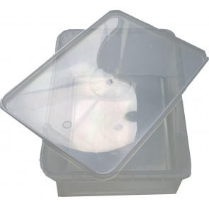 Plastic container 1000 ml + cap 25 pieces