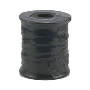 Wax cord black Ø 1mm