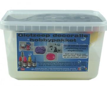 Glycerin melt and pour soap retail / present set