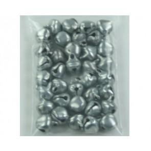 Pendant bells silver ± 35 pieces