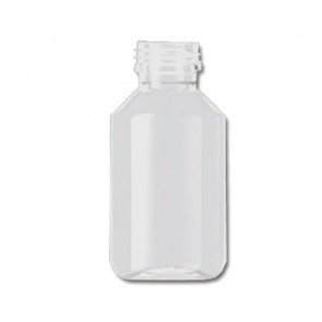 100ml transparent plastic bottle cap / din 28
