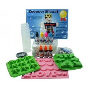 Children glycerin melt and pour Soap chain package up to 6 children