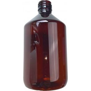 500ml amber plastic bottle cap / din 28