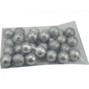 Metallic-colored plastic ball 20mm ML601 30 pieces