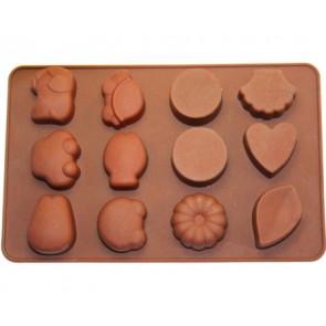 QP0035S silicone mold: Chocolates 1