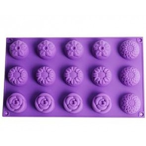 QP0057S silicone mold: Cupcake