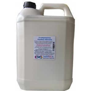 Liquid silicone rubber 385QS a component make your own molds 5,7 kilo
